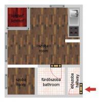 Garay tér 31.95MFt - 31 m2eladó Új építésű lakás Budapest 7. kerület