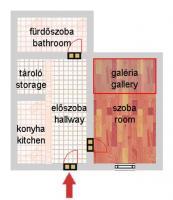 Damjanich utca 29.9MFt - 35 m2eladó Polgári lakás Budapest 7. kerület