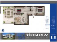 Vérhalom utca 140.646MFt - 73 m2eladó Új építésű lakás Budapest 2. kerület