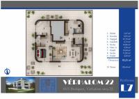 Vérhalom utca 246.925MFt - 83 m2eladó Új építésű lakás Budapest 2. kerület