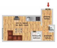 Thököly út 26.5MFt - 28 m2eladó Polgári lakás Budapest 14. kerület