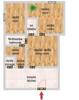 Kassa utca 114.9MFt - 120 m2eladó Ház lakás Budapest 2. kerület