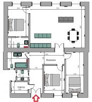Szent István körút 184.9MFt - 120 m2eladó lakás Budapest 5. kerület