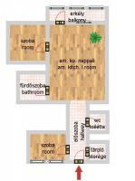 Harminckettesek tere 59.9MFt - 65 m2eladó Csúsztatott zsalus lakás Budapest 8. kerület